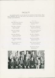 Page 7, 1935 Edition, Mount Baker High School - Mountaineer Yearbook (Deming, WA) online yearbook collection
