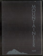 1936 Edition, Mount Baker High School - Mountaineer Yearbook (Deming, WA)