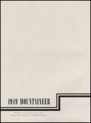 Page 6, 1949 Edition, Mount Baker High School - Mountaineer Yearbook (Deming, WA) online yearbook collection