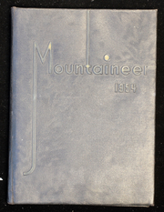 1954 Edition, Mount Baker High School - Mountaineer Yearbook (Deming, WA)