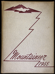1955 Edition, Mount Baker High School - Mountaineer Yearbook (Deming, WA)