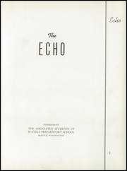 Page 7, 1938 Edition, Seattle Preparatory School - Echo Yearbook (Seattle, WA) online yearbook collection