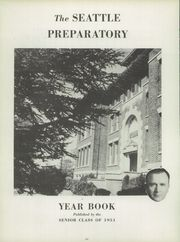 Page 10, 1951 Edition, Seattle Preparatory School - Echo Yearbook (Seattle, WA) online yearbook collection