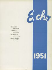 Page 7, 1951 Edition, Seattle Preparatory School - Echo Yearbook (Seattle, WA) online yearbook collection