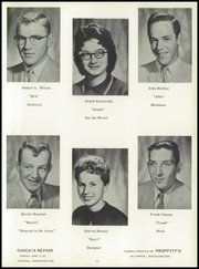 Page 17, 1958 Edition, Tenino High School - Tehisco Yearbook (Tenino, WA) online yearbook collection