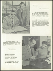 Page 9, 1958 Edition, Tenino High School - Tehisco Yearbook (Tenino, WA) online yearbook collection