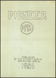 Page 7, 1924 Edition, Naches Valley High School - Pioneer Yearbook (Naches, WA) online yearbook collection