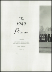 Page 8, 1949 Edition, Naches Valley High School - Pioneer Yearbook (Naches, WA) online yearbook collection