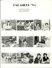 Page 5, 1985 Edition, Holy Names Academy - Excalibur Yearbook (Seattle, WA) online yearbook collection
