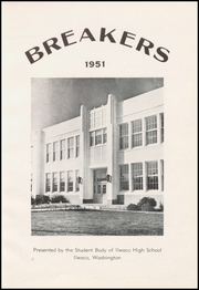 Page 7, 1951 Edition, Ilwaco High School - Breakers Yearbook (Ilwaco, WA) online yearbook collection