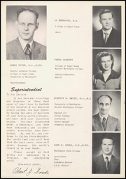 Page 15, 1952 Edition, Orting High School - Cardinal Yearbook (Orting, WA) online yearbook collection