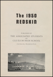 Page 5, 1950 Edition, Cle Elum Roslyn High School - Redskin Yearbook (Cle Elum, WA) online yearbook collection