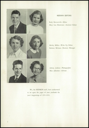 Page 6, 1952 Edition, Cle Elum Roslyn High School - Redskin Yearbook (Cle Elum, WA) online yearbook collection