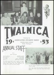 Page 7, 1953 Edition, Toledo High School - Twalmica Yearbook (Toledo, WA) online yearbook collection