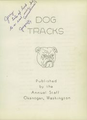 Page 7, 1956 Edition, Okanogan High School - Dog Tracks Yearbook (Okanogan, WA) online yearbook collection