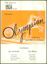 Page 5, 1958 Edition, O Dea High School - Olympian Yearbook (Seattle, WA) online yearbook collection