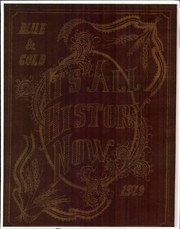Page 1, 1929 Edition, Colfax High School - Blue and Gold Yearbook (Colfax, WA) online yearbook collection