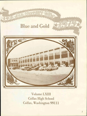 Page 7, 1929 Edition, Colfax High School - Blue and Gold Yearbook (Colfax, WA) online yearbook collection
