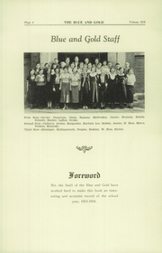 Page 10, 1934 Edition, Colfax High School - Blue and Gold Yearbook (Colfax, WA) online yearbook collection