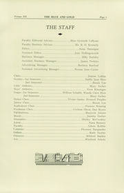Page 11, 1934 Edition, Colfax High School - Blue and Gold Yearbook (Colfax, WA) online yearbook collection