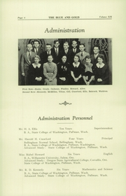 Page 12, 1934 Edition, Colfax High School - Blue and Gold Yearbook (Colfax, WA) online yearbook collection