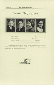 Page 15, 1934 Edition, Colfax High School - Blue and Gold Yearbook (Colfax, WA) online yearbook collection