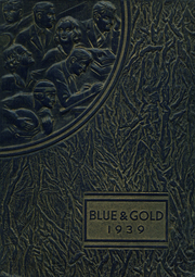 Page 1, 1939 Edition, Colfax High School - Blue and Gold Yearbook (Colfax, WA) online yearbook collection