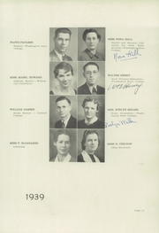 Page 17, 1939 Edition, Colfax High School - Blue and Gold Yearbook (Colfax, WA) online yearbook collection