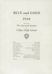 Page 7, 1948 Edition, Colfax High School - Blue and Gold Yearbook (Colfax, WA) online yearbook collection