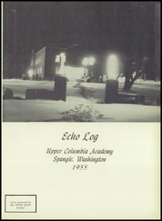 Page 5, 1955 Edition, Upper Columbia Academy - Echo Log Yearbook (Spangle, WA) online yearbook collection