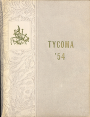 1954 Edition, Highland High School - Tycoma Yearbook (Cowiche, WA)