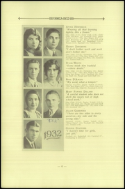 Page 14, 1932 Edition, Concrete High School - Yanica Yearbook (Concrete, WA) online yearbook collection