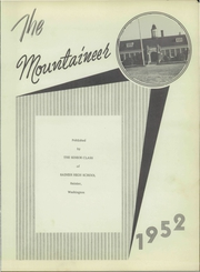 Page 7, 1952 Edition, Rainier High School - Mountaineer Yearbook (Rainier, WA) online yearbook collection