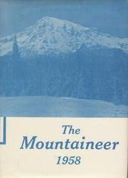 Page 1, 1958 Edition, Rainier High School - Mountaineer Yearbook (Rainier, WA) online yearbook collection