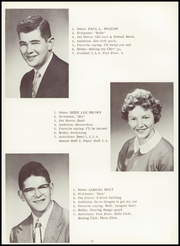 Page 16, 1958 Edition, Rainier High School - Mountaineer Yearbook (Rainier, WA) online yearbook collection
