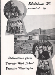 Page 7, 1958 Edition, Brewster High School - Shelokum Yearbook (Brewster, WA) online yearbook collection
