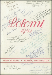 Page 7, 1941 Edition, Yakima High School - Wigwam Yearbook (Yakima, WA) online yearbook collection