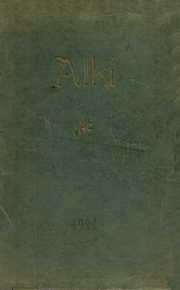 Vancouver High School - Alki Yearbook (Vancouver, WA) online yearbook collection, 1921 Edition, Page 1