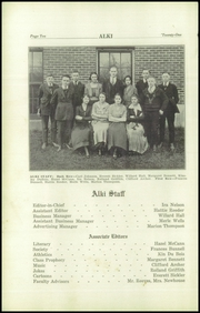 Page 12, 1921 Edition, Vancouver High School - Alki Yearbook (Vancouver, WA) online yearbook collection