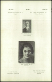 Page 14, 1921 Edition, Vancouver High School - Alki Yearbook (Vancouver, WA) online yearbook collection