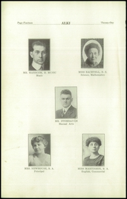 Page 16, 1921 Edition, Vancouver High School - Alki Yearbook (Vancouver, WA) online yearbook collection