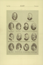 Page 12, 1924 Edition, Vancouver High School - Alki Yearbook (Vancouver, WA) online yearbook collection