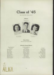 Page 16, 1945 Edition, Vancouver High School - Alki Yearbook (Vancouver, WA) online yearbook collection