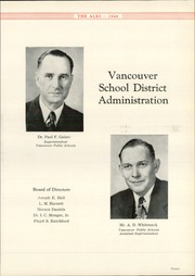 Page 11, 1948 Edition, Vancouver High School - Alki Yearbook (Vancouver, WA) online yearbook collection