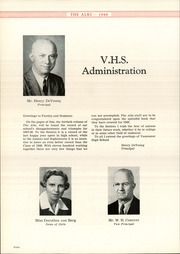 Page 12, 1948 Edition, Vancouver High School - Alki Yearbook (Vancouver, WA) online yearbook collection