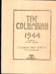 Page 5, 1944 Edition, Columbia High School - Columbian Yearbook (Burbank, WA) online yearbook collection