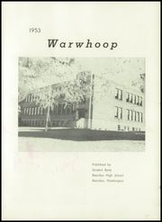 Page 7, 1953 Edition, Reardan High School - Warwhoop Yearbook (Reardan, WA) online yearbook collection