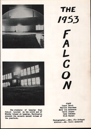 Page 5, 1953 Edition, Langley High School - Falcon Yearbook (Langley, WA) online yearbook collection