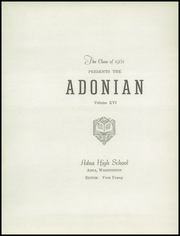 Page 7, 1951 Edition, Adna High School - Adonian Yearbook (Adna, WA) online yearbook collection