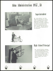 Page 14, 1958 Edition, Adna High School - Adonian Yearbook (Adna, WA) online yearbook collection